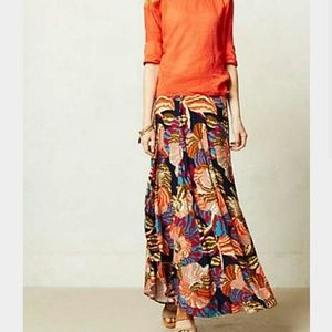 Small Anthro HD in Paris Tigridua Maxi Skirt